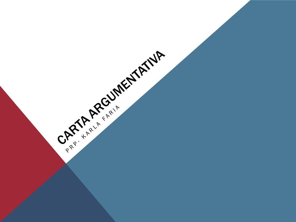 Carta Argumentativa PRP- Karla Faria