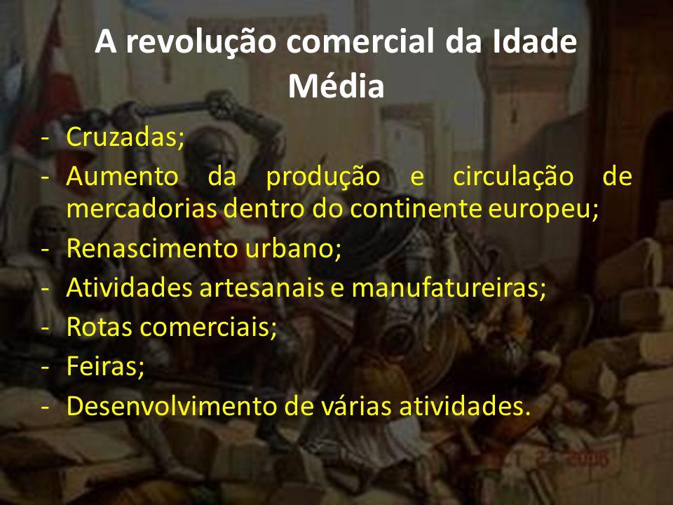 A revolução comercial da Idade Média