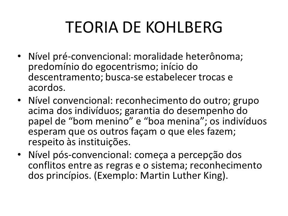 TEORIA DE KOHLBERG