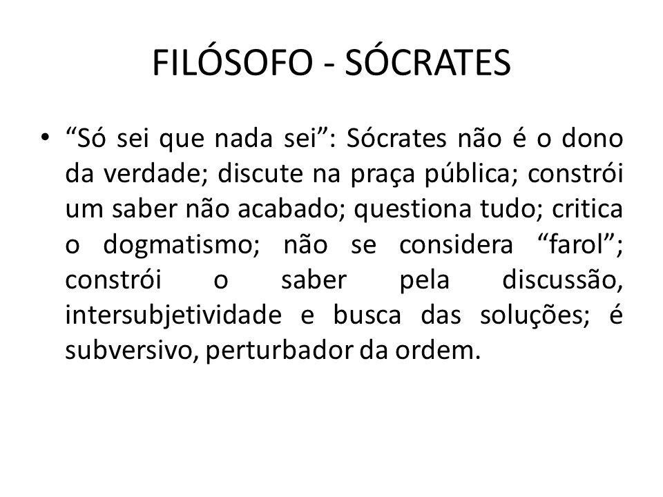 FILÓSOFO - SÓCRATES