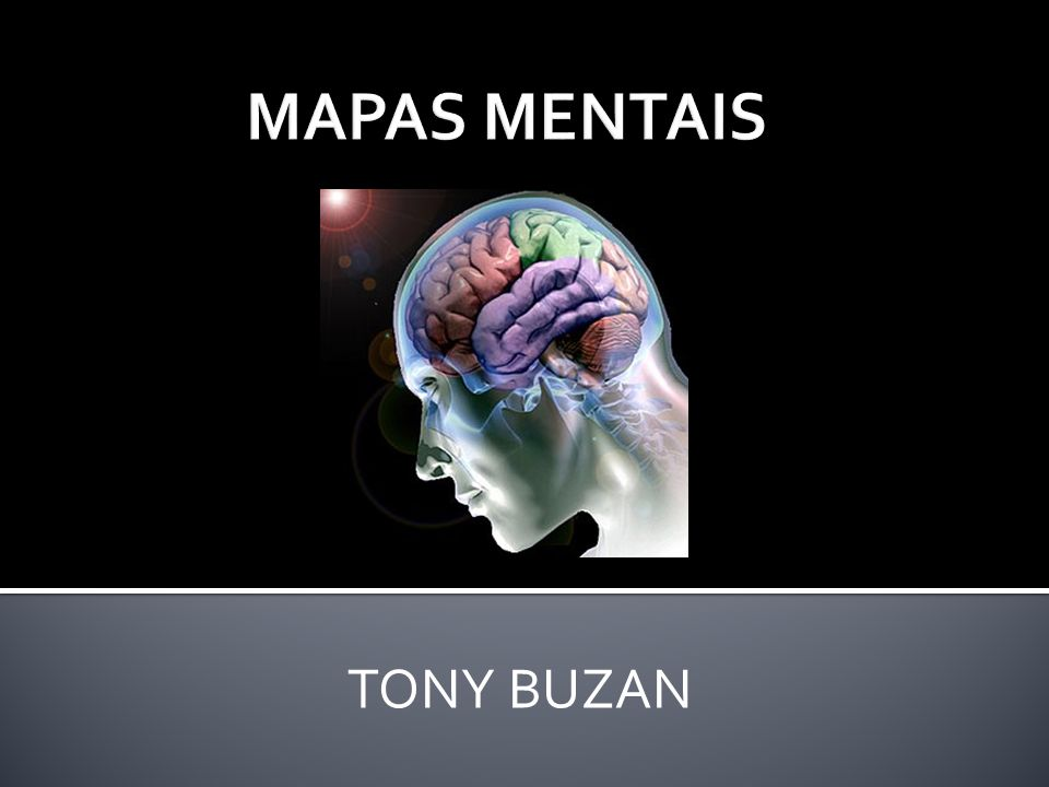MAPAS MENTAIS TONY BUZAN