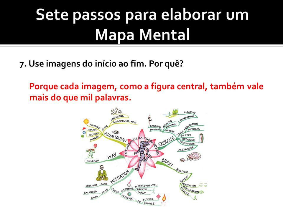 Sete passos para elaborar um Mapa Mental