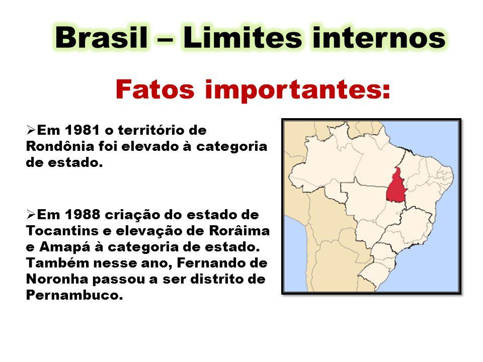 Brasil – Limites internos