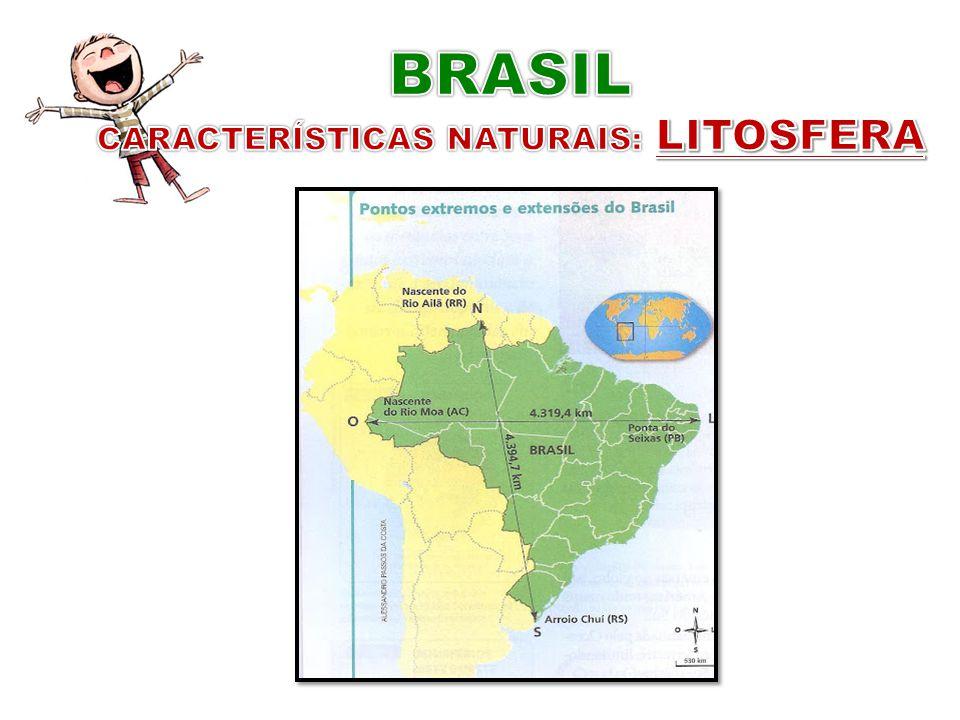 CARACTERÍSTICAS NATURAIS: LITOSFERA