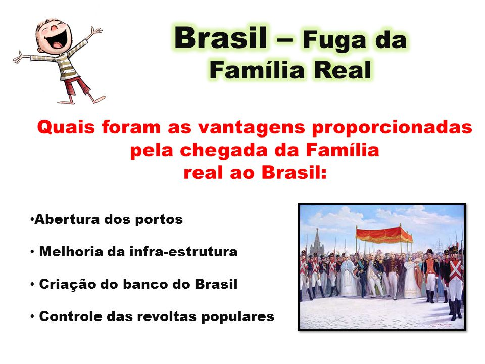 Brasil – Fuga da Família Real