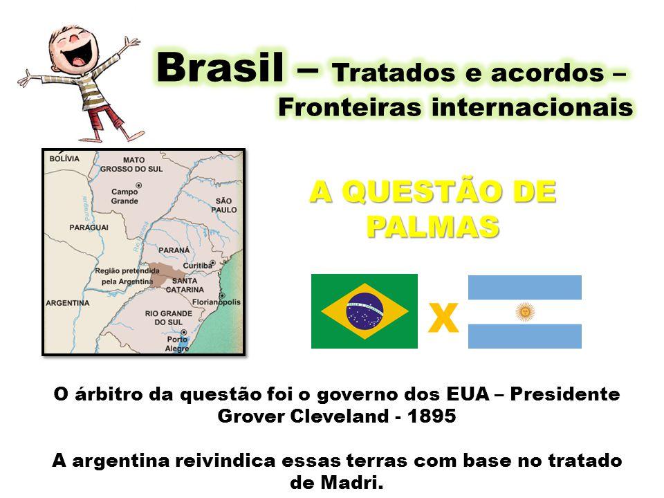 Brasil – Tratados e acordos –