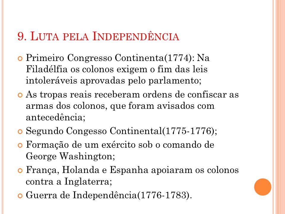 9. Luta pela Independência