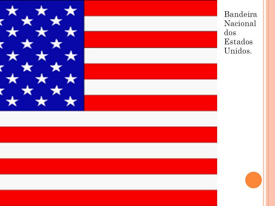 Bandeira Nacional dos Estados Unidos.