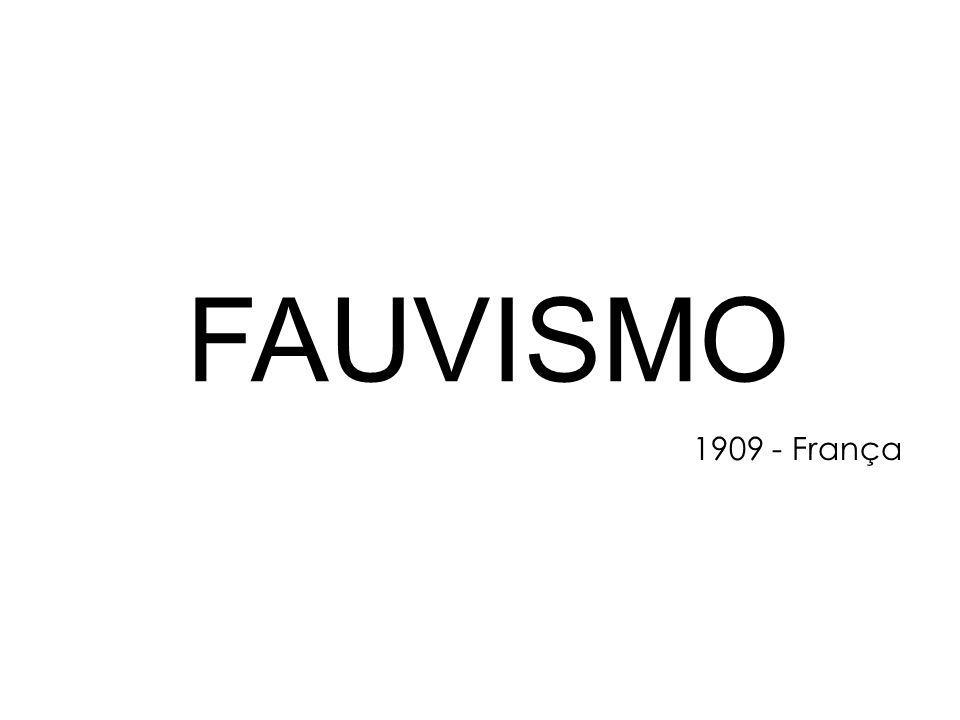 FAUVISMO 1909 - França