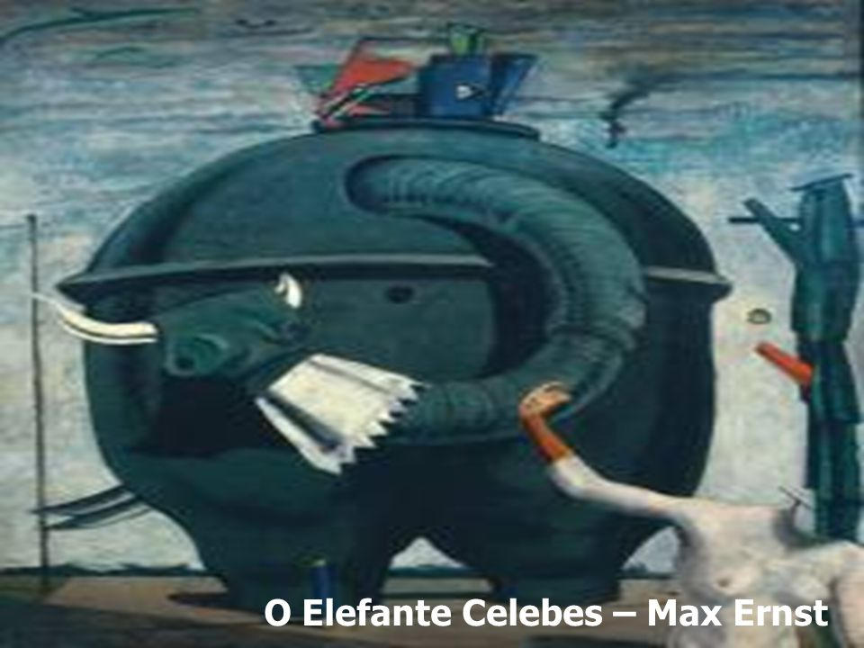 O Elefante Celebes – Max Ernst