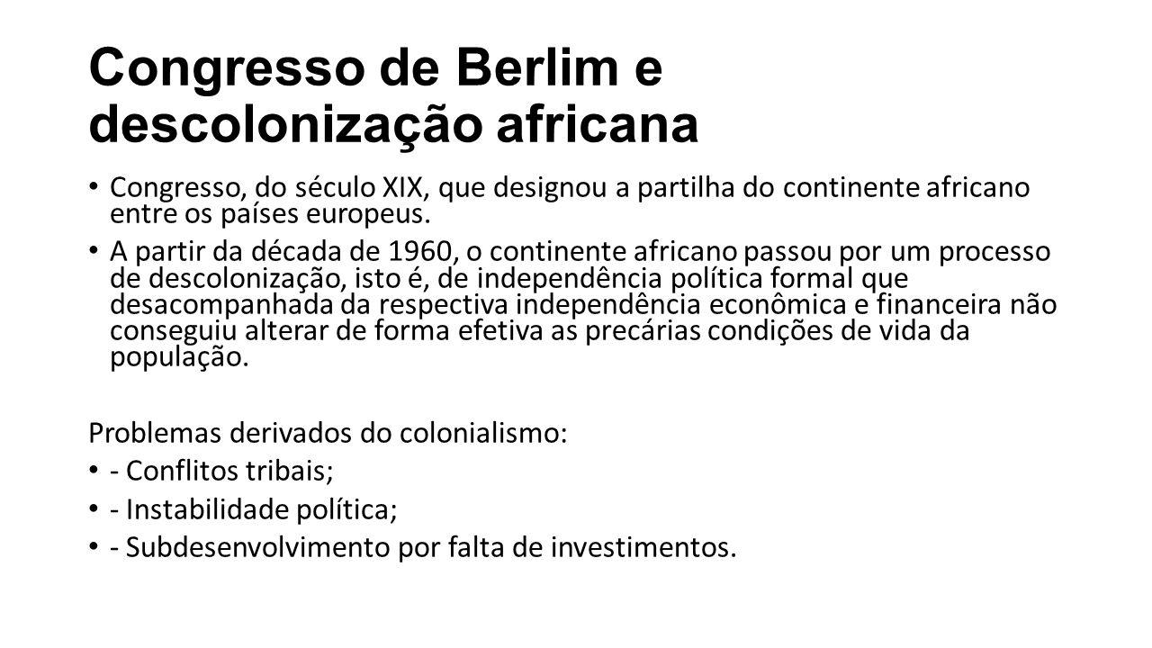 Congresso de Berlim e descolonização africana