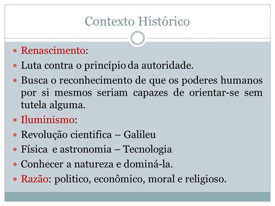 Contexto Histórico Renascimento: