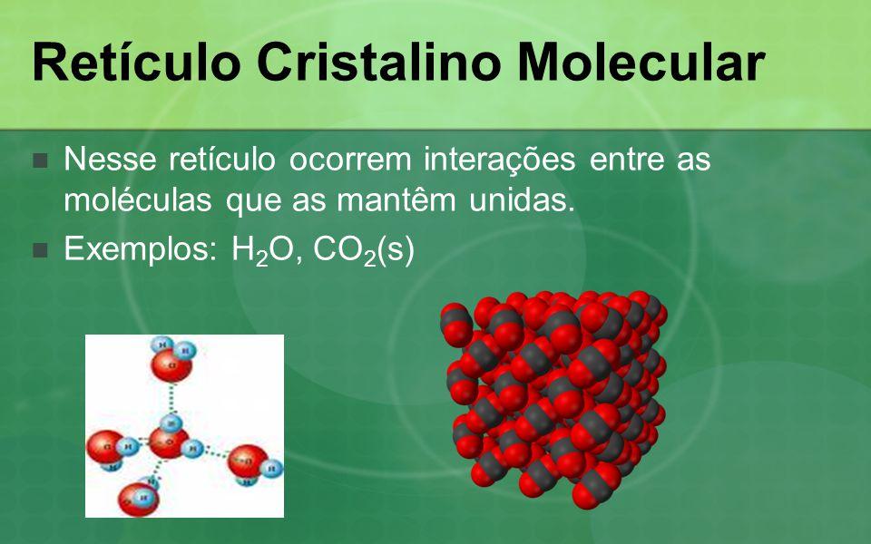 Retículo Cristalino Molecular