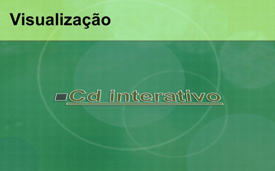 Visualização Cd interativo
