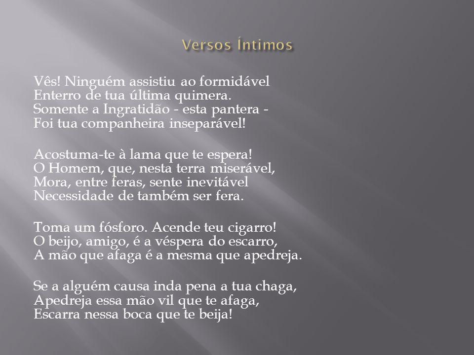 Versos Íntimos