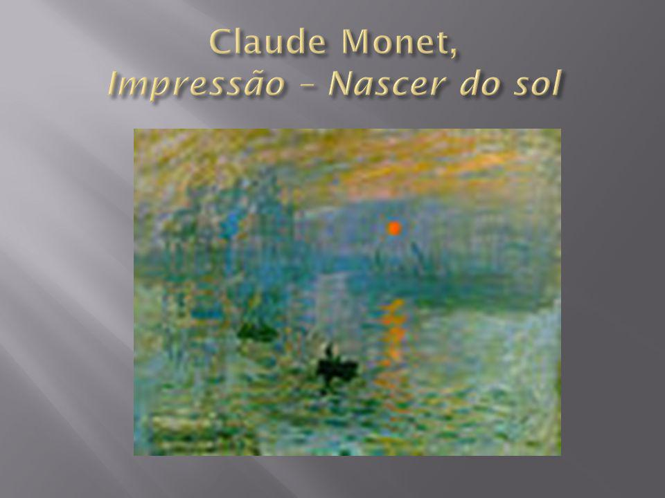 Claude Monet, Impressão – Nascer do sol
