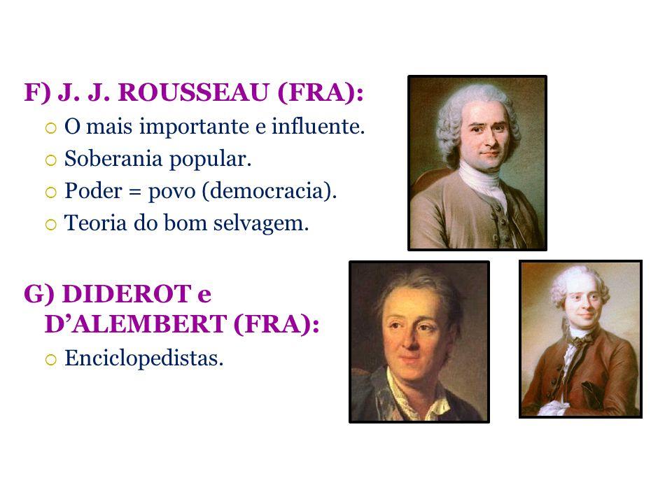 G) DIDEROT e D'ALEMBERT (FRA):