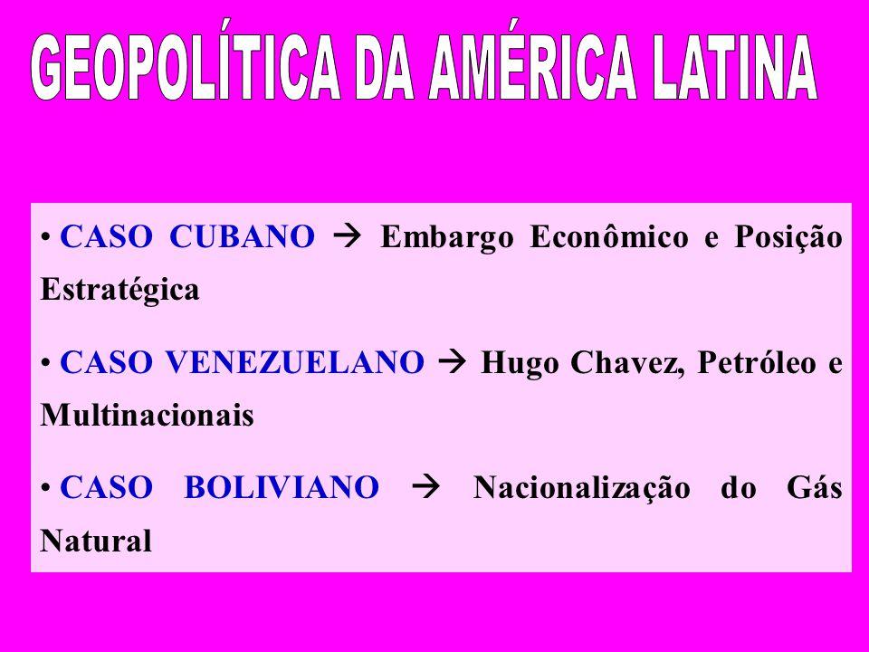GEOPOLÍTICA DA AMÉRICA LATINA