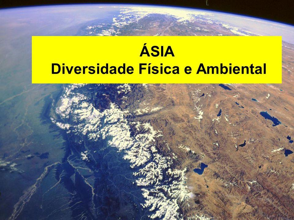 ÁSIA Diversidade Física e Ambiental