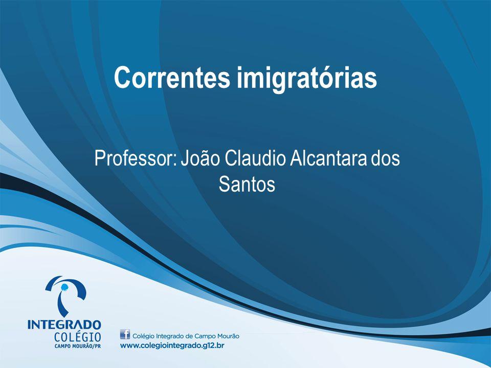 Correntes imigratórias