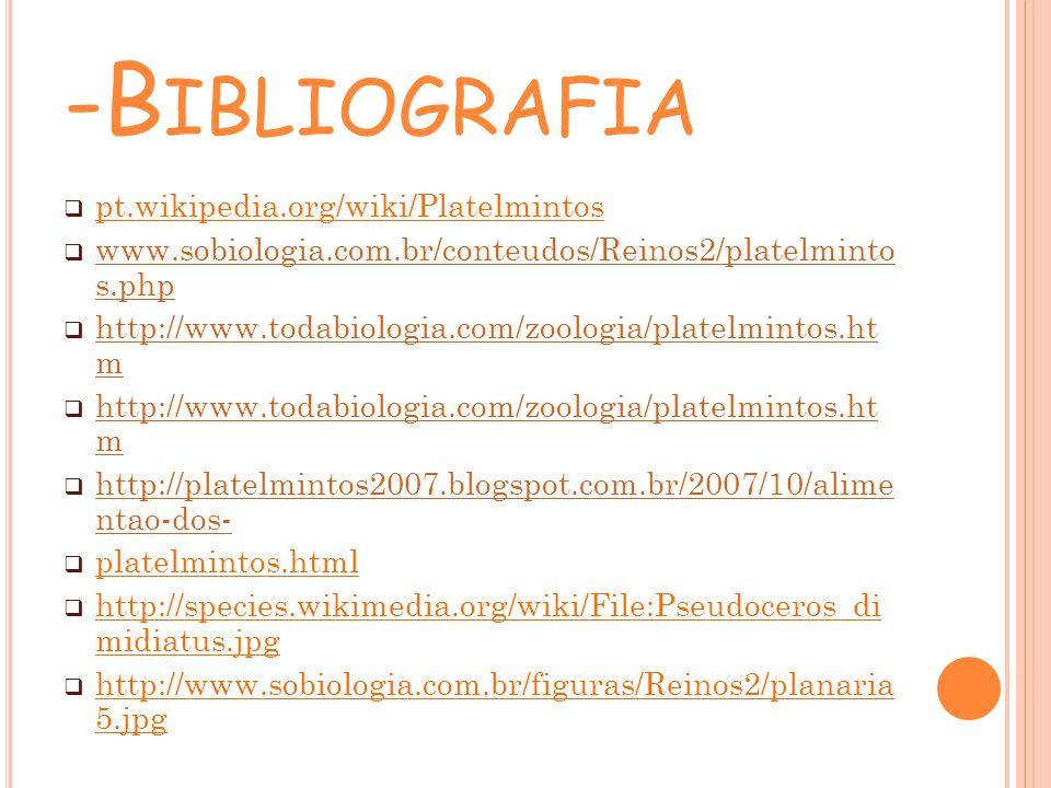 -Bibliografia pt.wikipedia.org/wiki/Platelmintos