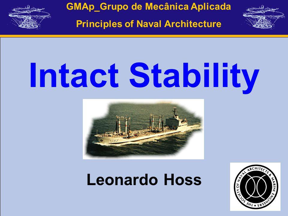 Intact Stability Leonardo Hoss