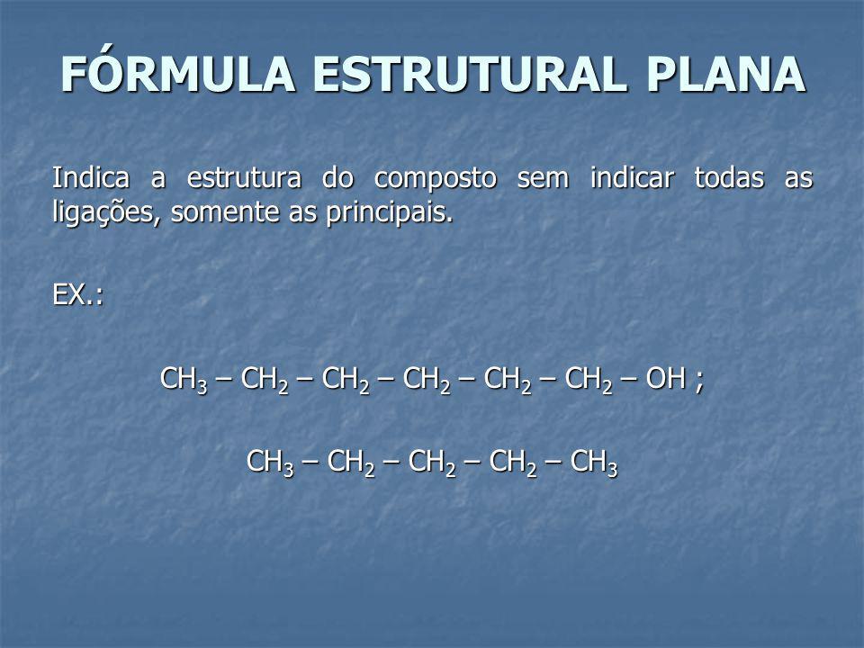 FÓRMULA ESTRUTURAL PLANA