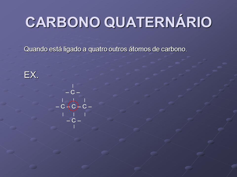 CARBONO QUATERNÁRIO EX.