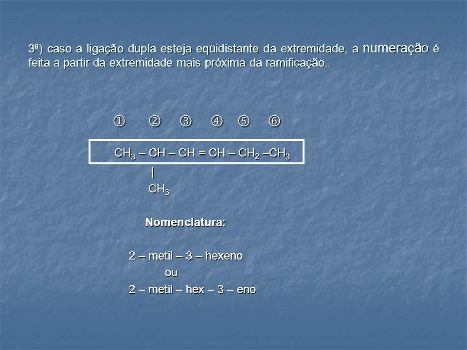       CH3 – CH – CH = CH – CH2 –CH3