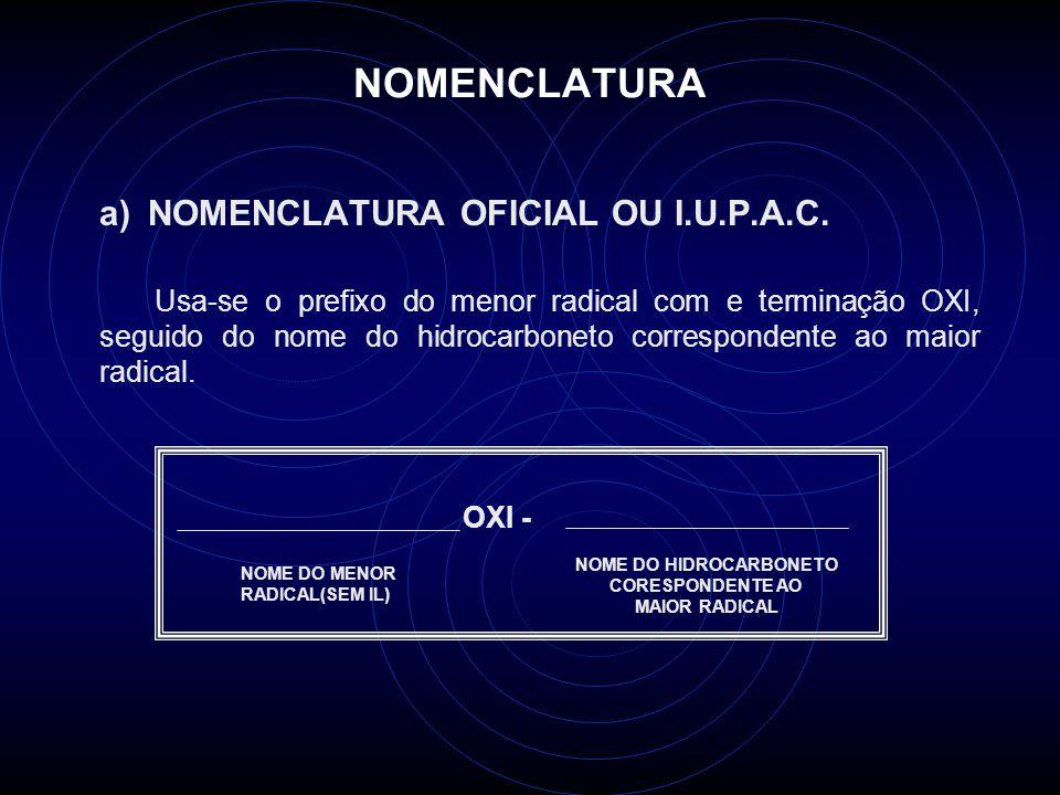 NOME DO HIDROCARBONETO