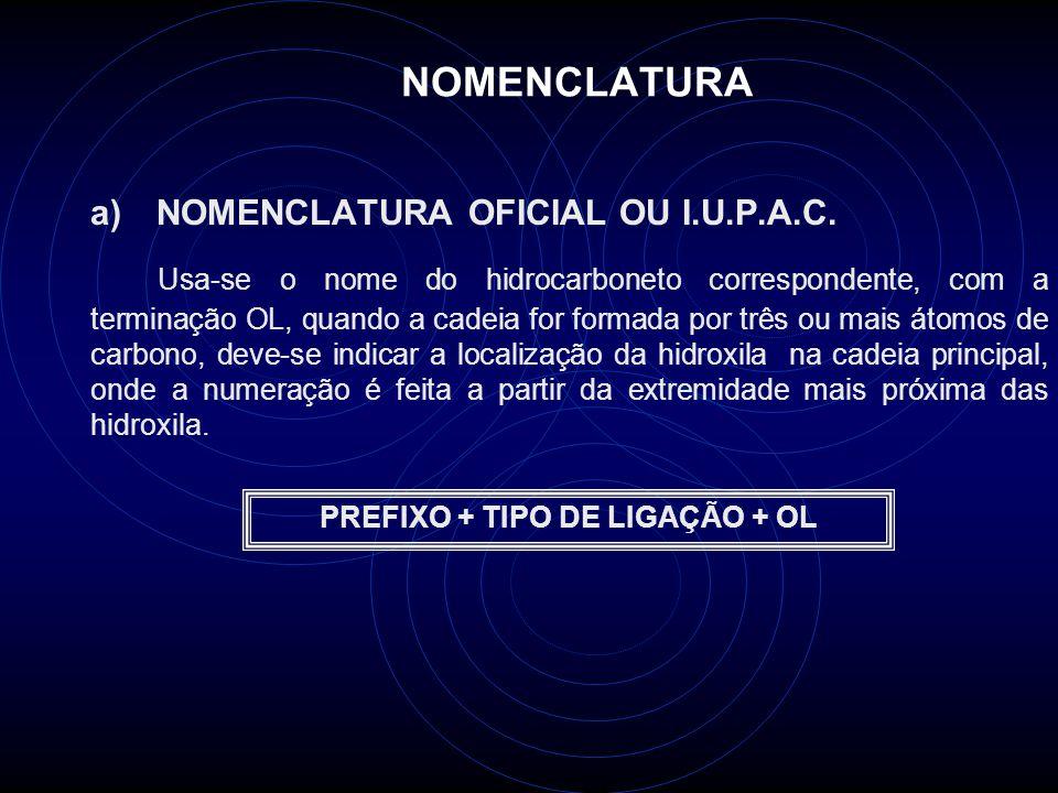 PREFIXO + TIPO DE LIGAÇÃO + OL