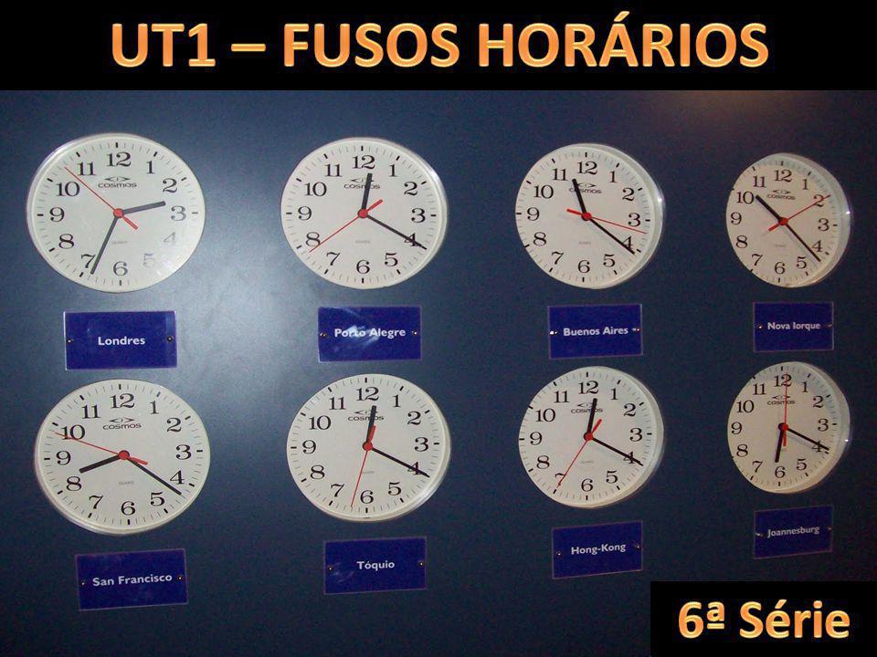 UT1 – FUSOS HORÁRIOS 6ª Série