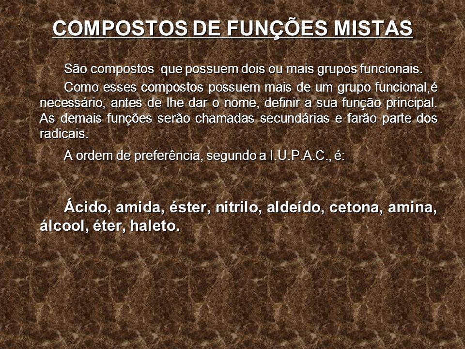 COMPOSTOS DE FUNÇÕES MISTAS