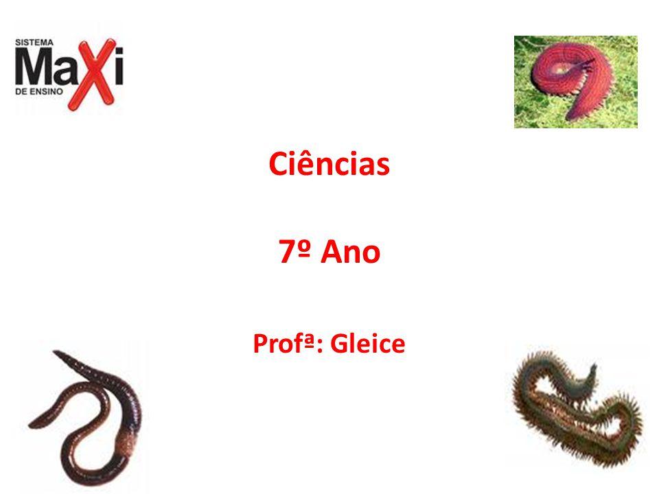 Ciências 7º Ano Profª: Gleice