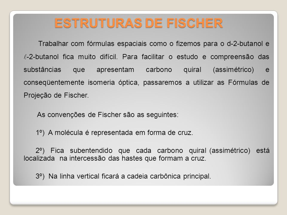 ESTRUTURAS DE FISCHER