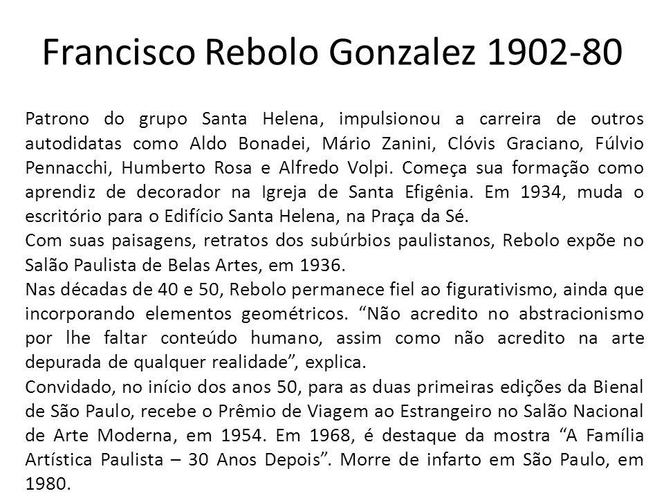 Francisco Rebolo Gonzalez 1902-80