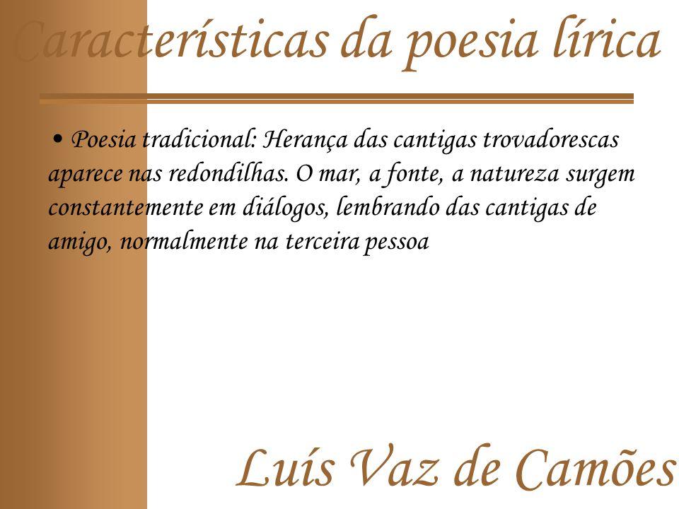 Características da poesia lírica