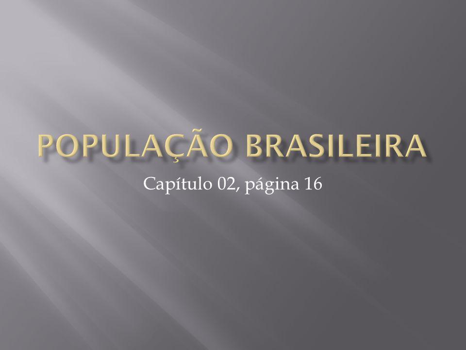 População brasileira Capítulo 02, página 16