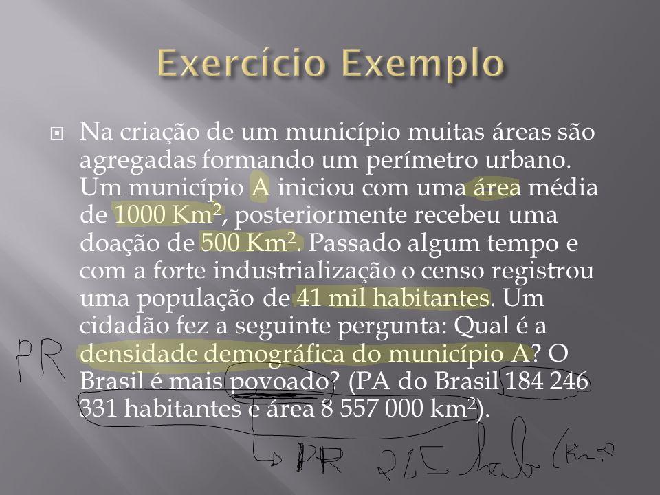 Exercício Exemplo