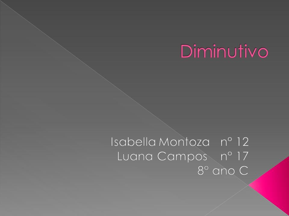 Isabella Montoza n° 12 Luana Campos n° 17 8° ano C