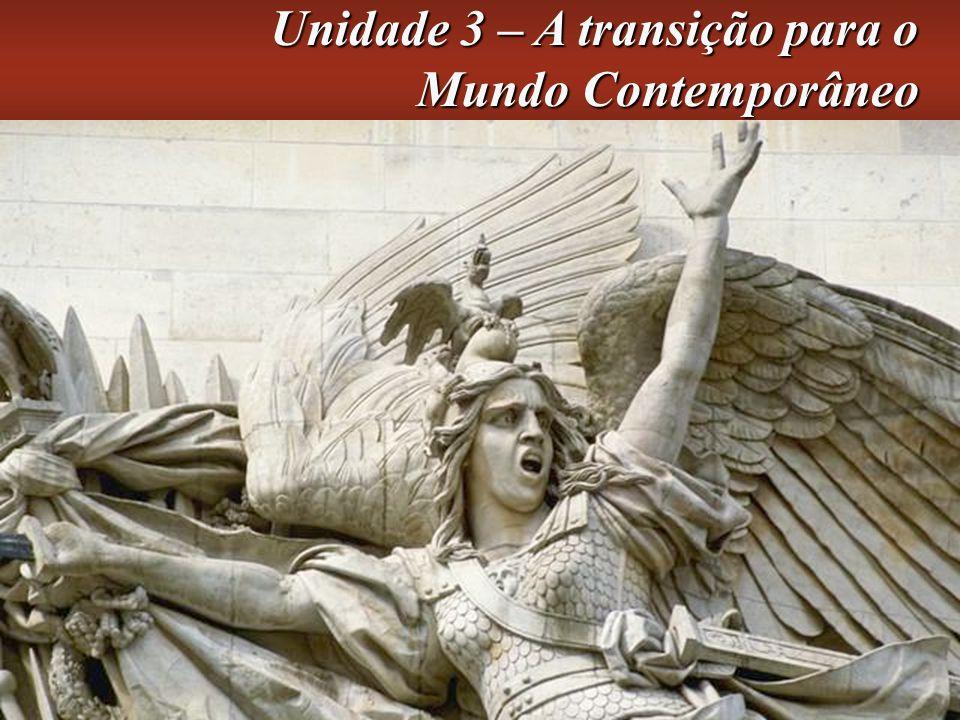 Unidade 3 – A transição para o Mundo Contemporâneo