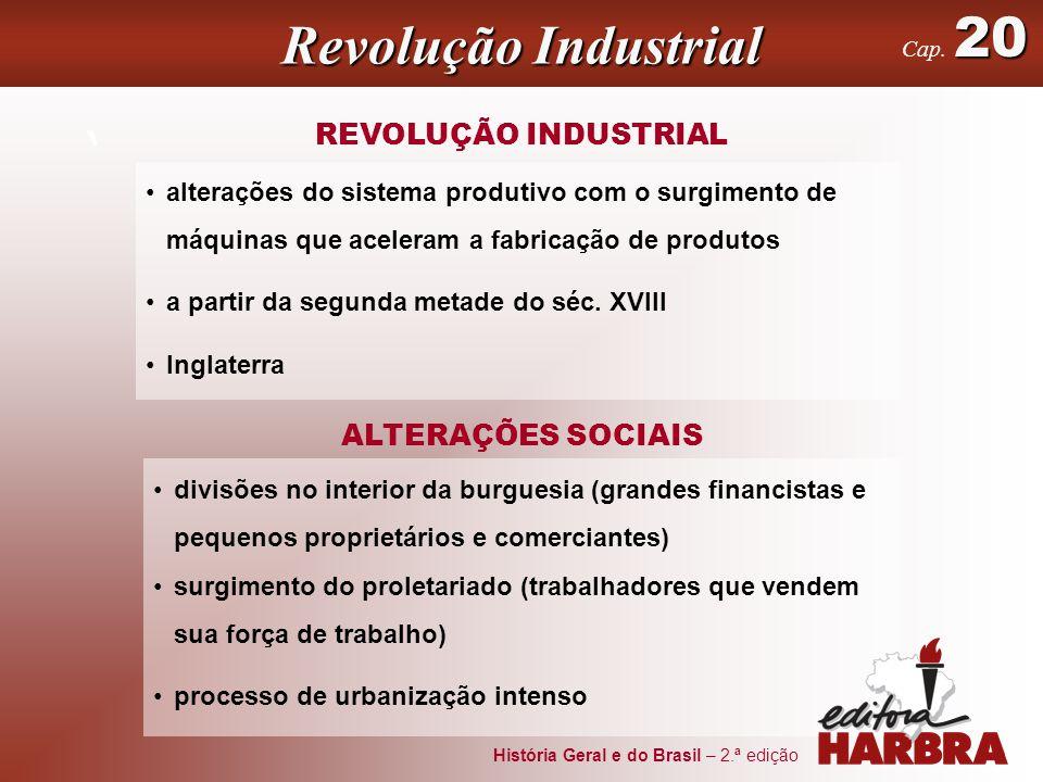 Revolução Industrial ' REVOLUÇÃO INDUSTRIAL ALTERAÇÕES SOCIAIS