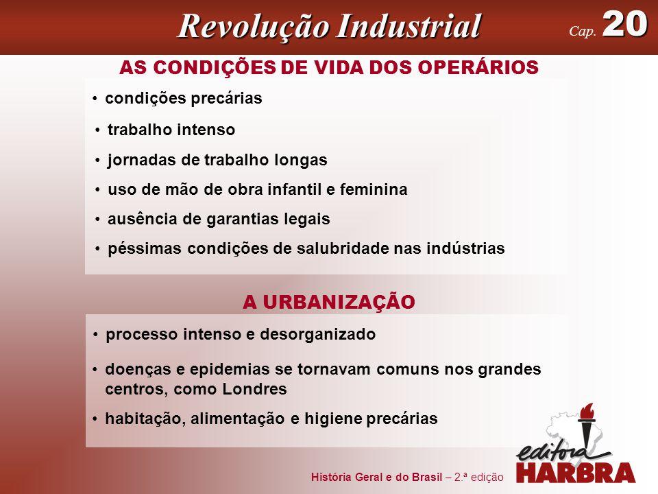AS CONDIÇÕES DE VIDA DOS OPERÁRIOS