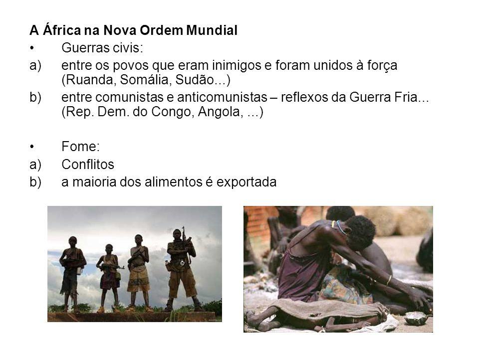 A África na Nova Ordem Mundial