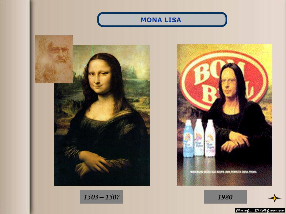 MONA LISA 1503 – 1507 1980
