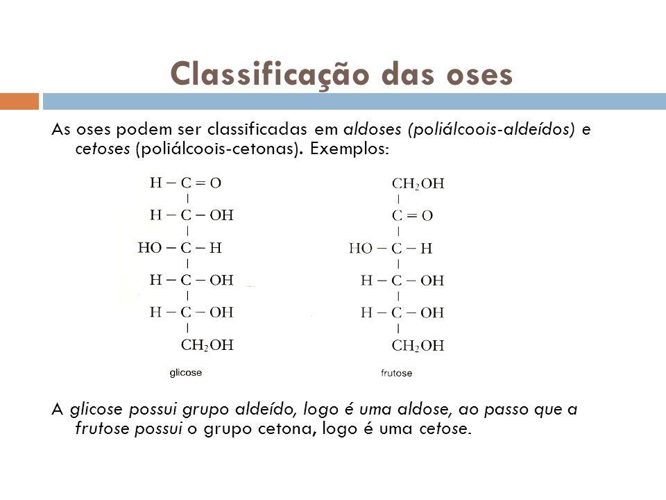 Classificação das oses