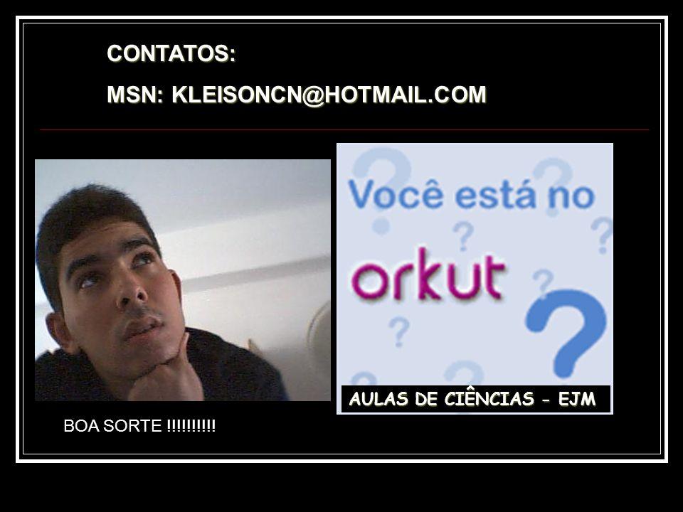 MSN: KLEISONCN@HOTMAIL.COM