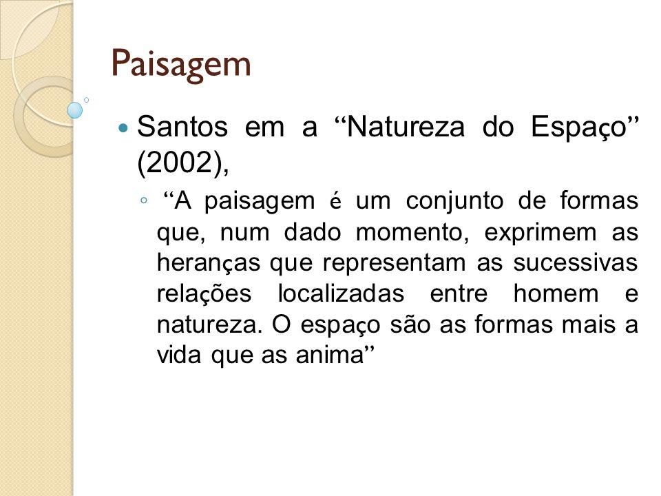 Paisagem Santos em a Natureza do Espaço (2002),