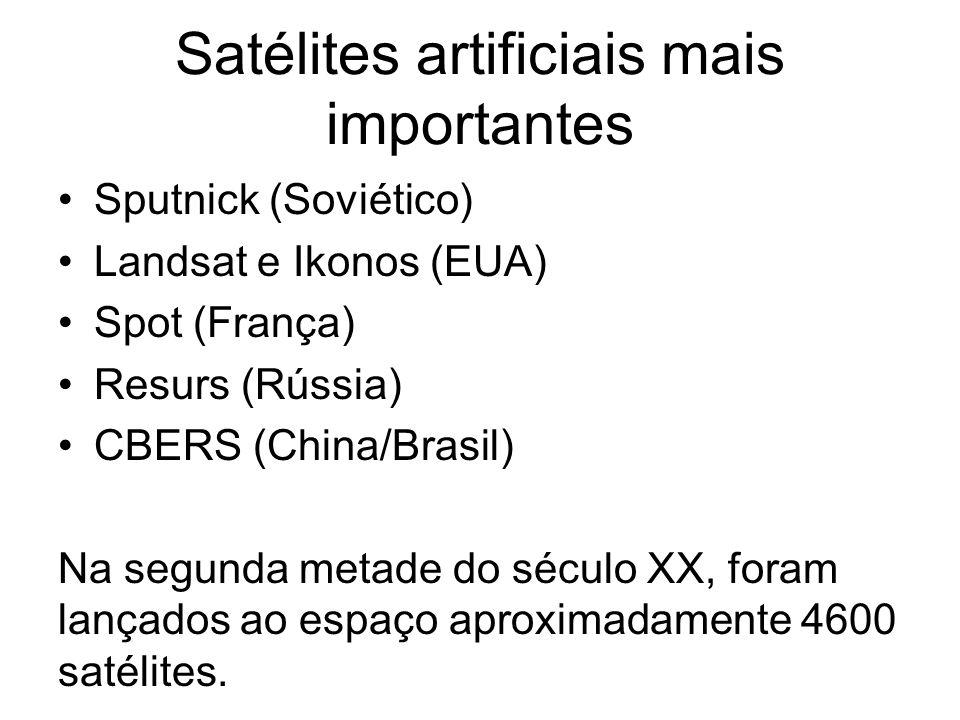 Satélites artificiais mais importantes