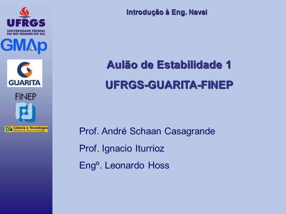 Aulão de Estabilidade 1 UFRGS-GUARITA-FINEP